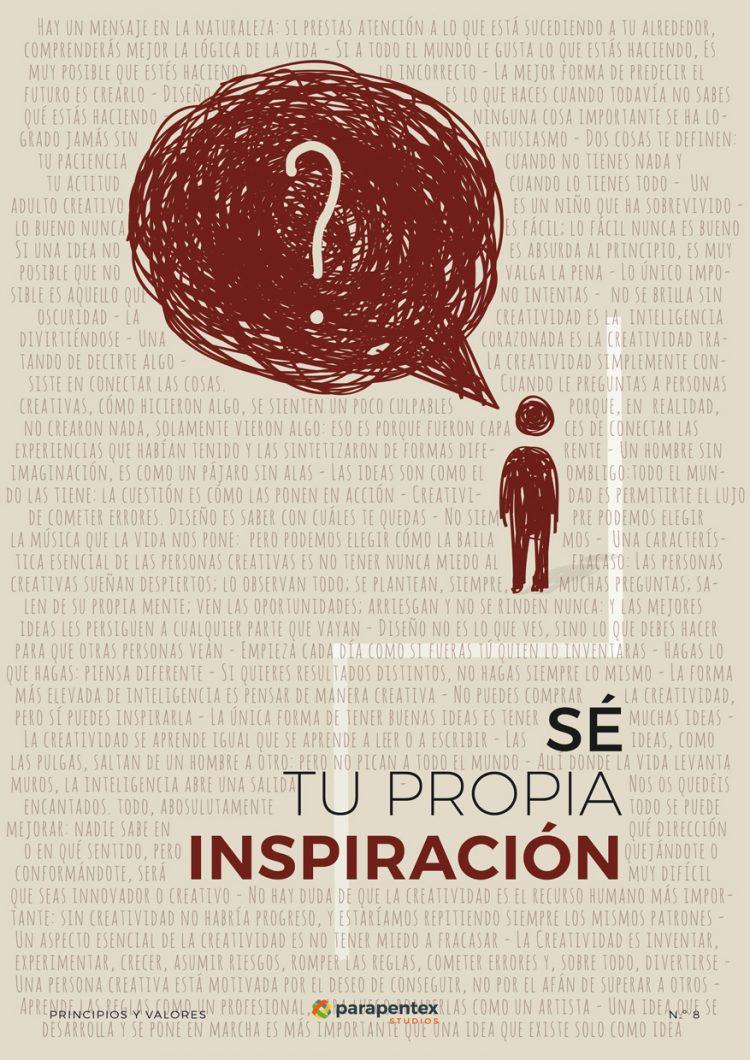 Principio 08 Parapentex Studios - Sé tu propia inspiración